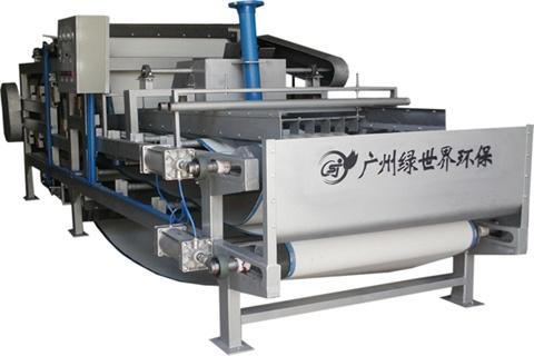 浓缩脱水一体化带式压滤机