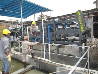 稀土污泥带式压榨机